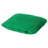 ЛУРВИГ Подушка, зеленый, 33x38 см