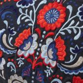СКОГСКРОРН Подушка, темно-серый, разноцветный, 40x65 см