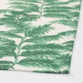 СИЛВЕРПОППЕЛ Полотенце кухонное, с рисунком зеленый, белый, 50x70 см