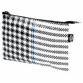 САММАНКОППЛА Чехол, черный/белый, 16x24 см