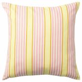 СОММАР 2020 Чехол на подушку, светло-желтый, разноцветный, 50x50 см