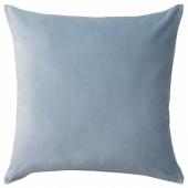 САНЕЛА Чехол на подушку, голубой, 50x50 см