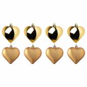 ВИНТЕР 2020 Украшение подвесное, в форме сердца золотой
