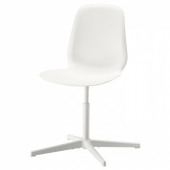ЛЕЙФ-АРНЕ Рабочий стул, белый, Бальсбергет белый