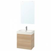 ГОДМОРГОН / БРОВИКЕН Комплект мебели для ванной,4 предм.