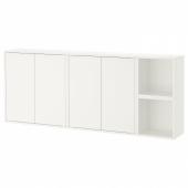 ЭКЕТ Комбинация настенных шкафов, белый, 175x25x70 см