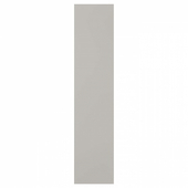 СКАТВАЛЬ Дверца с петлями, светло-серый, 40x180 см