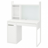 МИККЕ Письменный стол, белый, 105x50 см
