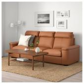 ЛИДГУЛЬТ 3-местный диван, Гранн/Бумстад золотисто-коричневый