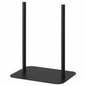 ЭЙЛИФ Экран передвижной, серый, черный, 80x150 см