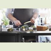 ГРИЛЛЬСКЭР Кухня с мойкой, для улицы, нержавеющ сталь, 172x61 см