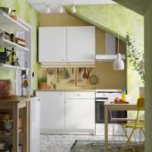 КНОКСХУЛЬТ Кухня, белый, 120x61x220 см