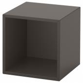 ЭКЕТ Навесной модуль, темно-серый, 35x35x35 см