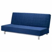 БЕДИНГЕ 3-местный диван-кровать, Шифтебу темно-синий