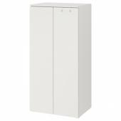 СМОСТАД / ОПХУС Гардероб, белый, белый, 60x40x123 см