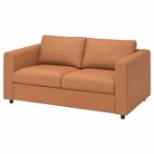 ВИМЛЕ 2-местный диван, Гранн/Бумстад золотисто-коричневый