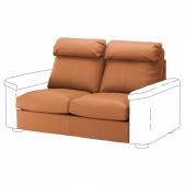 ЛИДГУЛЬТ Секция 2-местного дивана-кровати, Гранн/Бумстад золотисто-коричневый
