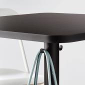 СТЕНСЕЛЕ Барный стол, антрацит, антрацит, 70x70 см