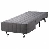 ЛИКСЕЛЕ Кресло-кровать, Шифтебу темно-серый