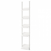 ЭЛВАРЛИ 1 секция, белый, 52x36x222-350 см
