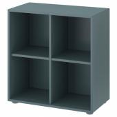 ЭКЕТ Комбинация шкафов с ножками, серо-бирюзовый, 70x35x72 см