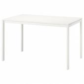 МЕЛЬТОРП Стол, белый, 125x75 см