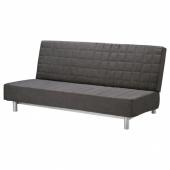 БЕДИНГЕ 3-местный диван-кровать, Шифтебу темно-серый