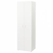 СТУВА / ФРИТИДС Гардероб, белый, белый, 60x50x192 см
