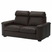 ЛИДГУЛЬТ 2-местный диван, Гранн/Бумстад темно-коричневый