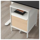 БЕКАНТ Модуль для хранения, на ножках, сетка белый, 41x61 см